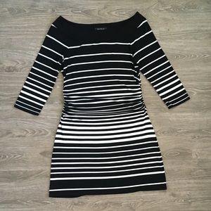 White House Black Market Dresses - White House Black Market Striped Dress